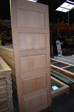 Internal Solid Meranti 5 Panel Door ARCADIA - 2340mm x 870m x 35mm