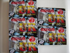 new Maxell UR-90 Blank Audio Cassette Tape - qty of 1 (one)