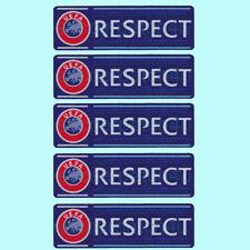 5PCS UEFA Respect Champions League Football Patch 2008-2016 Europa Soccer Badge