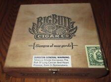BIG BUTT WOOD CIGAR BOX DON GORDO-MADURO