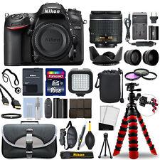 Nikon D7200 Digital SLR Camera with 18-55mm Lens + 16GB Mega Accessory Bundle
