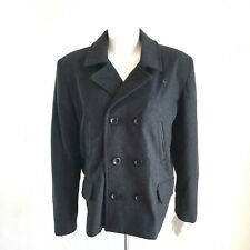 New Blackout - women's Pea Coat with Quilted Lining Size 16/18