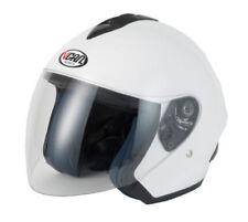 Caschi casco aperti per la guida di veicoli visiera antigraffio