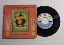 CHARLES PERRAULT Riquet A La Houppe 45 Pathe Rec EA-139 France 1957 RARE BOOKLET