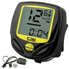 Digital Wireless Bike Computer / Speedo / Odometer Cycle / Bicycle Speedometer Y