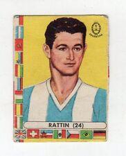 [RCL] FIGURINA LAMPO CALCIATORI CILE 1962 ARGENTINA NUMERO 24 RATTIN