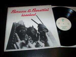 "Baracca & Burattini ""Hinterland"" LP  Mama Barley – MB 0003 Italy 1981"