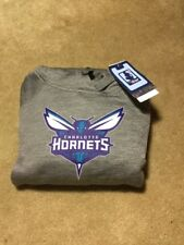 Adidas Womens NBA Team Logo Fleece Pullover Hoodie Charlotte Hornets NWT LARGE