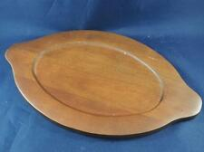 Vintage Wood Serving Tray made in Okinawa