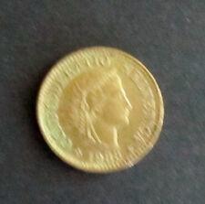 Münze 5 Rappen Schweizer Franken 1983 aus Umlauf gültiges Zahlungsmittel