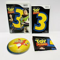 Toy Story 3 Nintendo Wii, 2010 Complete & TESTED - Manual And Exclusive Poster