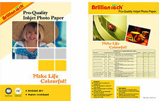 Premium Glossy Finest Quality Photo Paper A4 20-100 sheets -270 GSM RC Base