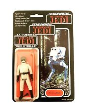 Star Wars-AT-ST Driver-Figura-Tri-Logo Rotj 1983 Moc Kenner
