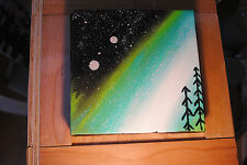 Mother nature and Night Sky Canvas Art