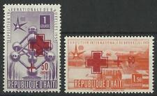HAITI 1958 RED CROSS PAIR MINT