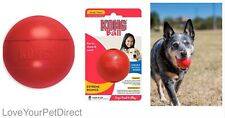 KONG Dog Extreme Ball Hard Rubber Red Toy Balls  Dogs Gift Toys SMALL