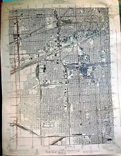 USGS 7.5' topographic map, Chicago-Englewood, IL 1929 edition, reprinted 1939