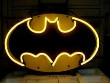 "New Batman Comics Man Cave Neon Light Sign 20""x16"" Beer Decor Man Cave Glass"