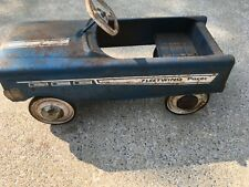 Vintage Fleetwing Pacer Pedal Car - Rare Blue- Barn Find