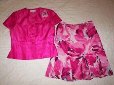Women's Danny & Nicole Skirt Suit - Size 14