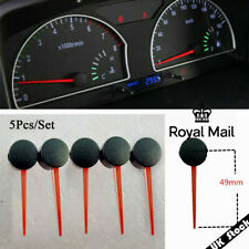 UK ! 5Pcs 49MM Plastic Car Motorcycle Speedometer Needles Pointers Universal