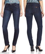 NWT Joe's Jeans Cigarette Straight Leg Denim in Dark Wash Size 25