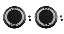 "Weber 65930 6"" Replacement Wheel for Charcoal Grills (2 Pack)"