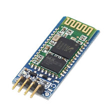 4 Pin Wireless Serial Bluetooth RF Transceiver Module HC-06 RS232 With backplane