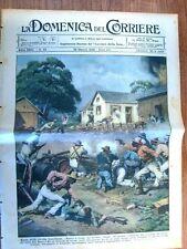 La Domenica del Corriere 26 Ottobre 1930 San Paulo Rio de Janeiro Toscana Tibet