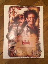 Hook small poster (1991) Robin Williams, Dustin Hoffman & Julia Roberts