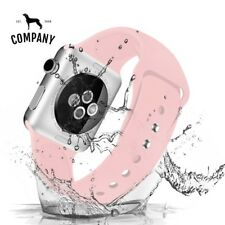 4 40mm 44mm correa Aplle watch 42mm Sport Silicone strap for Apple watch bands