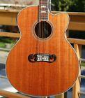 Fishbone Acoustic Jumbo BLK200 J200-Mahogany Single Cut for sale