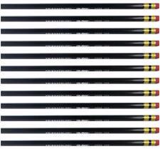 Prismacolor Col-erase Erasable Colored Pencil - Black - 20048 - 12PC