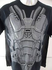 Superman General ZOD Man Of Steel Large Costume T Shirt With Cape Halloween