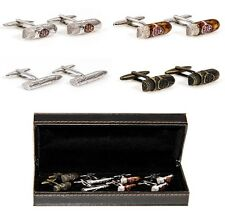 Cigars 4 Different Pairs Cufflinks Wedding Fancy Gift Box Free Ship USA