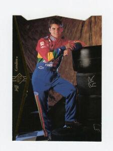 Jeff Gordon 1995 SP Die Cut Parallel Gold Foil Stamped Insert Card Upper Deck DC