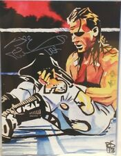 Autographed Shawn Michaels 18 x 24 Poster, Print WWE DX Wrestling WWF HBK
