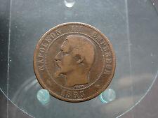 10 Centimes 1855 MA France
