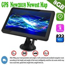 7 Inch HD Touch Screen Car Truck GPS Navigation 8GB ROM HGV SAT NAV UK EU Map