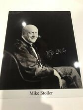 Mike Stoller Autographed 8 X 10 Photograph - Songwriter