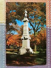 Soldiers Monument, Bowman Park, Three Rivers, Mich.