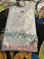 Sacramento Gold Miners CFL Booster Graphic Tee Shirt Vtg 90s Heather Gray Xl