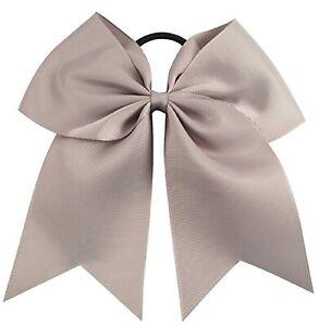 Big Cheer Bows Cheerleading Hair Bow Lot Cute Ribbon Cheap Blanks Custom White