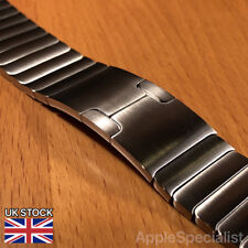 Genuine Apple Watch Band - 42MM Link Bracelet - Silver - Used - 316L Steel