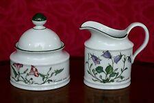 Vintage Seltmann Weiden Bavaria  Sugar Bowl & Creamer Jug
