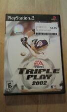 Playstation 2 Triple Play 2002 Video Game