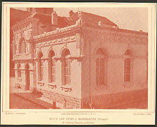 88 REMIREMONT SALLE DES FETES ARCHITECTE MARTIAL FRANCOIS IMAGE 1917/20