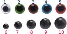 COPPIA OCCHI DI SICUREZZA 2pz amigurumi peluche pupazzi misure e colori a scelta