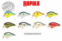 Rapala DT-1 Fat Crankbait DTFAT-01 Basla Wood Dives To 1 ft. 2.75in 5/8oz - Pick