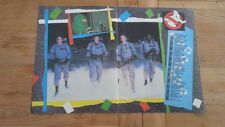 GHOSTBUSTERS 2-sided Centerfold magazine POSTER  17x11 inches